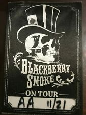Blackberry Smoke All Access Tour Pass 11-21-17 Tabernacle Atlanta, Ga