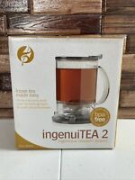 NEW Loose Tea 16 oz. ingenuiTEA Bottom Dispensing Teapot  16 oz  BPA Free