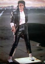 Michael Jackson - Orig.Vintage poster 1983 - Billie Jean - Exc.New cond. 23x33""