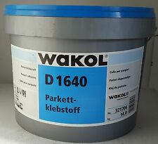 Wakol D 1640 á 14 kg, Parkettkleber, Dispersionsklebstoff, Kunstharzdispersion