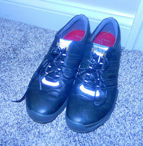 ECCO Men's Golf Shoes Black 10.5 Used but GOOD