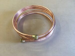 AUSTIN CAMBRIDGE A40,A50,A55 Mk.1 Copper Fuel Pipe with brass Union Tank To Pump