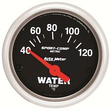 AutoMeter 40-120 °C Sport-Comp Analog Water Temp Gauge * 3337-M *
