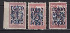 1920 Yugoslavia  SHS SLOVENIA Postage due OVPRT 'porto' MLH OG  VF