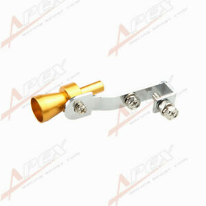 Universal Turbo Sound Exhaust Whistle/Fake Blow Off BOV Simulator Golden S