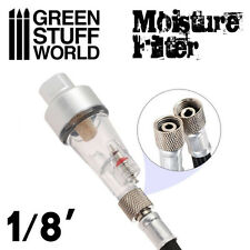 "Airbrush Moisture Air Filter 1/8"" - Painting Tools, modelling, Hobby, coupling"