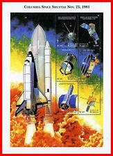 ANTIGUA 1999 COLUMBIA SPACE SHUTTLE first FLIGHT M/S = MNH **