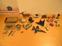 Vintage Desk and Toy Junk Drawer Lot