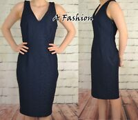 NEXT NEW TAGGED £45 LADIES NAVY LACE DRESS