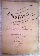 Constitución de la República de Colombia del año 1821 - réplica del original -