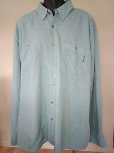 Orvis Shirt Mens Size XXXL Tall