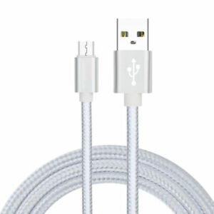 2A Braided Micro USB Charger Cable Fast Charging Cord For Samsung Tablet Android