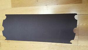 FLOOR SANDING SHEETS 200mm x 472mm - fits hiretech sander machine - Qty Options
