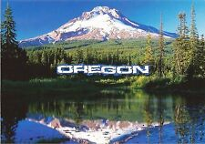 Postcard OR Oregon Mt Hood Trillium Lake Cascade Mountains Unused MINT