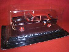 1/43 Peugeot 404 TAXI Paris Francie 1962 WORLD TAXI Die Cast