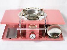 Vintage 1960's Coleman L.P. Gas Classic Pink Picnic Stove... NICE!