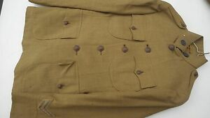 WW1 US National Army Quartermaster Enlisted Mans Tunic Sgt Stripes
