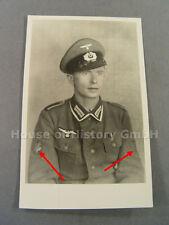 3328 Portraitfoto, Unteroffizier der Jäger-Truppe, Krimschild Jäger-Armabzeichen