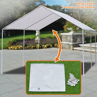 Strong Camel New Carport Garage Tarp 20 Ft. W x 10 Ft. D Patio Gazebo Canopy