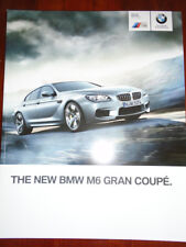 BMW M6 Gran Coupe range brochure 2013 ed 1 full brochure