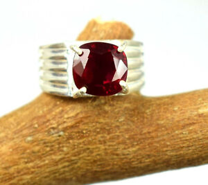 Certifed 2.72 Ct Natural Burma Red Ruby 925 Silver Ring Ideal Gift For Someone