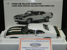 Biante 1/18 Ford Falcon XB Hardtop John Goss Special McLeod Ford Horn Car LE MiB