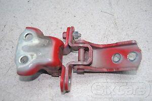 Toyota Yaris II 2x Door Hinge Door Front Right 3P0 Red
