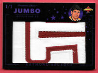 2020 Raymond Bourque President's Choice Solitaire 1/1 Jumbo Patch - Avalanche