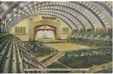 Atlantic City Convention Hall, Atlantic City, New Jersey, Interior view,unposted