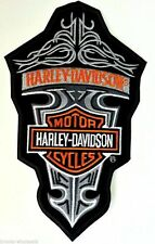 HARLEY DAVIDSON RETRO DAGGER TRIBAL PATCH 10 INCH (XXL) HARLEY PATCH