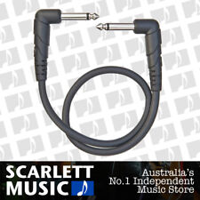 """Single Planet Waves Classic Series 6"""" x 1/4"""" Guitar Patch Cable Right Angle Ends"""