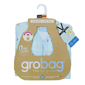 The Gro Company 0.5 Tog Travel Grobag - Keep Swimming 6-18 months Sleeping Bag