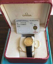 Omega De Ville Gold & Steel Men's Watch 2001 Model - Classy