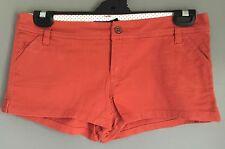 Beach Shorts Great Condition DOTTI Rust Orange Short Shorts Size 10