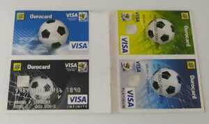 STICKERS VISA EXTRA WC WM 2010 EDITION PANINI BRAZIL