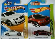 Hot Wheels Bentley Continental Supersports (White & Red) Set of 2!