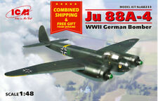 ICM 48233 - 1/48 JU 88A-4, German Bomber, WWII plastic scale model