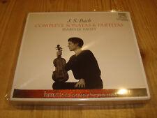 Isabelle Faust BACH Complete Violin Sonatas + Partitas Harmonia Mundi 2cd signed