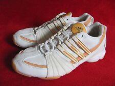 Adidas 2008 Adilibra Low White Orange Accent Women's Fitness Shoes US 7 UK 5.5