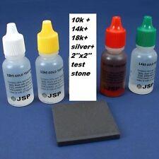 10K, 14K, 18K,  Gold and Silver Test Acid Kit Tools
