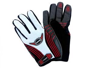 New Mountainbike / BMX / Downhill Glove Full Finger Glove  For Men -  White