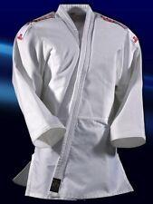 Judoanzug Yamanashi mit Schulterstreifen, in blau oder weiß. DAN RHO Judo, SV