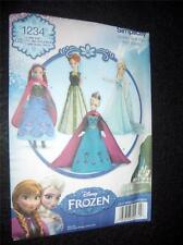 """11"""" DOLL Barbie Frozen Clothes NEW Simplicity 1234/S0734 Pattern"""