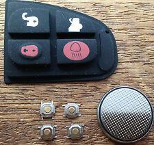 Jaguar X Type XF E S 4 Button Remote Key Fob Case Full Repair Kit UK Seller
