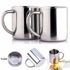 Portable étudiant inox Double paroi Mug voyage café tasse à thé nouveau