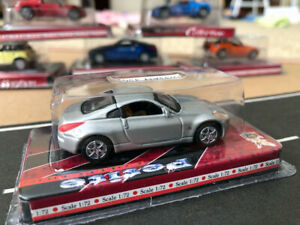 Yatming Road Signature Petite Collection Nissan 350Z SILVER 1/72 scale die cast