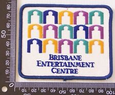 VINTAGE BRISBANE ENTERTAINMENT CENTRE EMBROIDERED PATCH WOVEN CLOTH SEW-ON BADGE