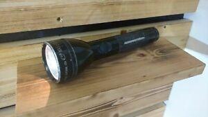 Black MagLite, 2-Cell C Flashlight/Torch