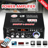 600 Watts 110V 2CH Car HIFI Audio Stereo Power Amplifier bluetooth FM Radio Home