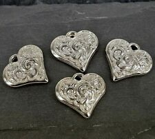 CCB Heart Charms, pendant, beads, craft, 10 pack CB21